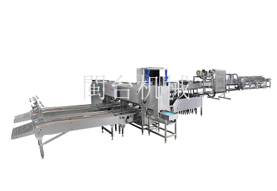 MT-101-3蛋品清洗分级装托生产线