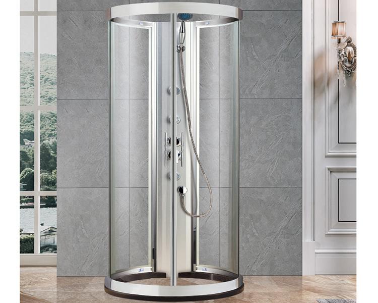 圆型淋浴房