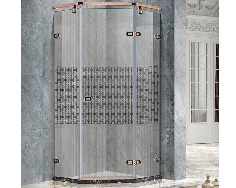 简易钻石型淋浴房