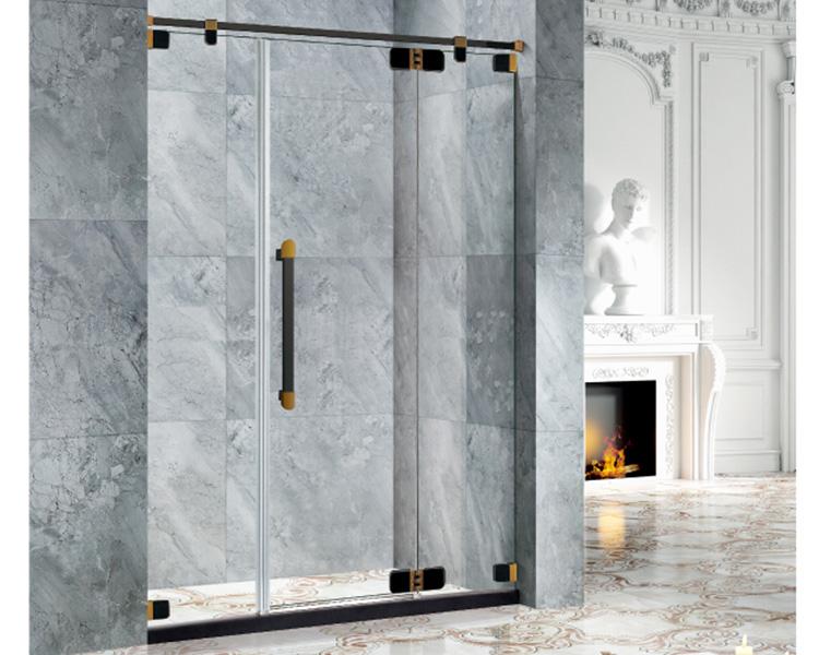 简易平开门淋浴房