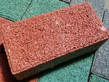 陶瓷颗粒透水砖
