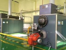 冷凝式间接加热热水锅炉房