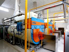 变频式冷凝余热回收蒸汽锅炉房