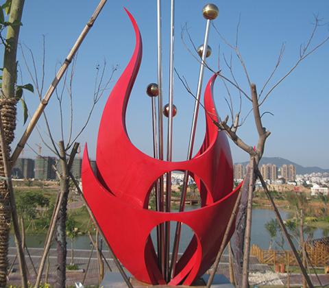 校園不銹鋼雕塑