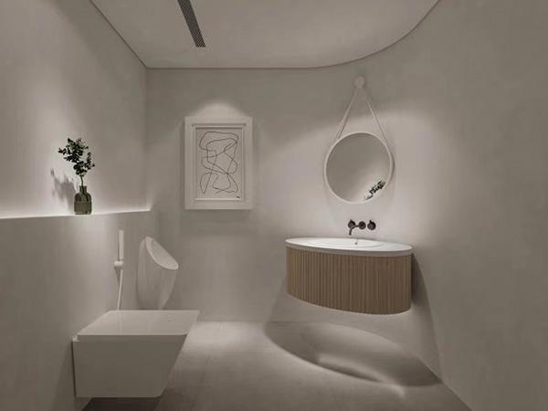 酒店浴室微水泥墻面漆