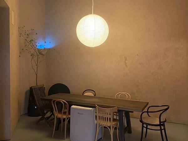 餐廳微水泥墻面漆