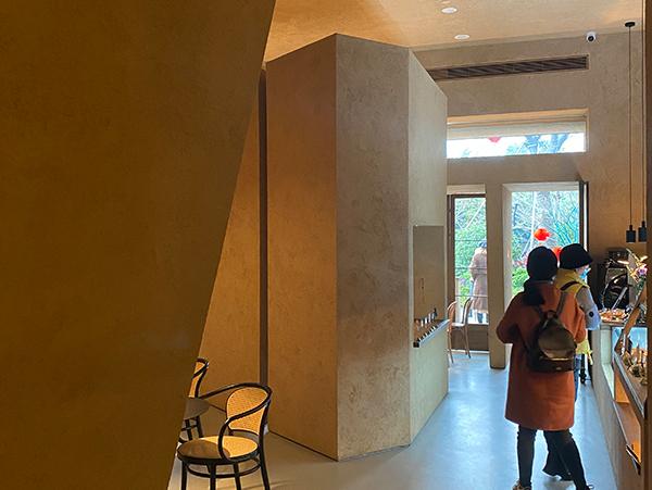 藝術展廳微水泥漆