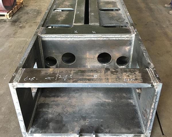 结构件焊接效果图
