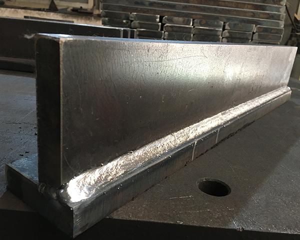 手工半自动焊接效果图