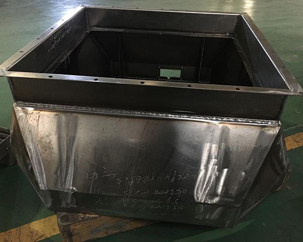 焊接结构件效果图