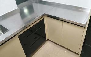 定制不锈钢橱柜台面
