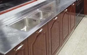 不銹鋼整體櫥柜