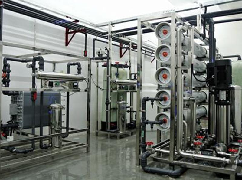 化妝品廠用反滲透純水設備