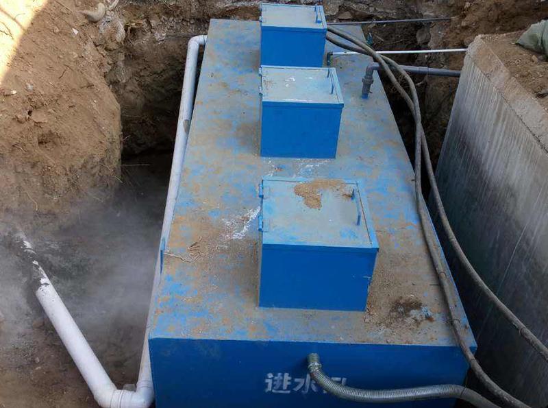 地埋式一體化生活汙水處理設備