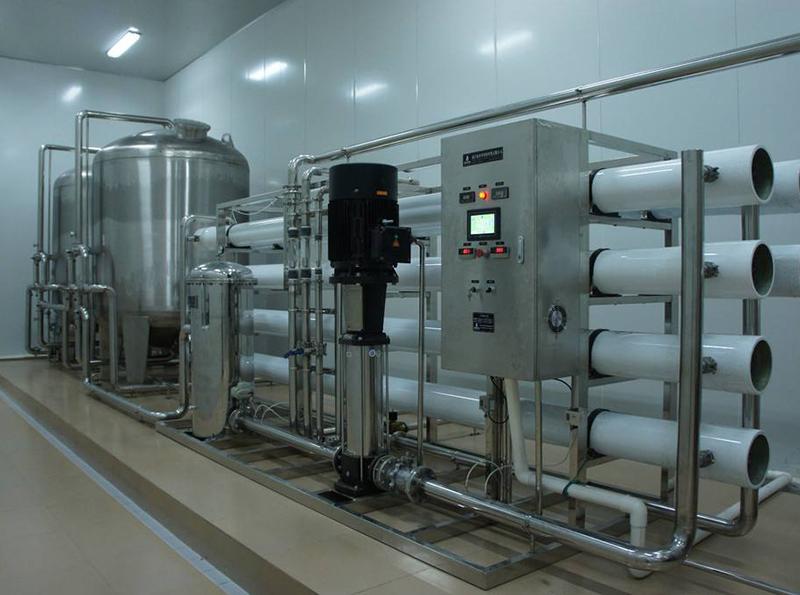 软水设备的流量控制