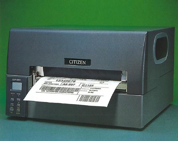 西铁城 CLP-8301宽幅条码打印机