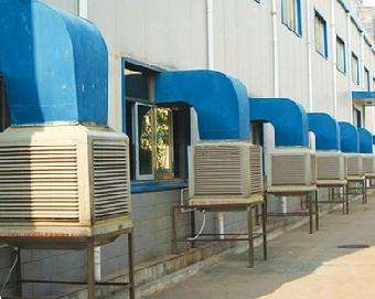 厂房通风降温