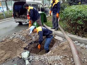 更换污水管道