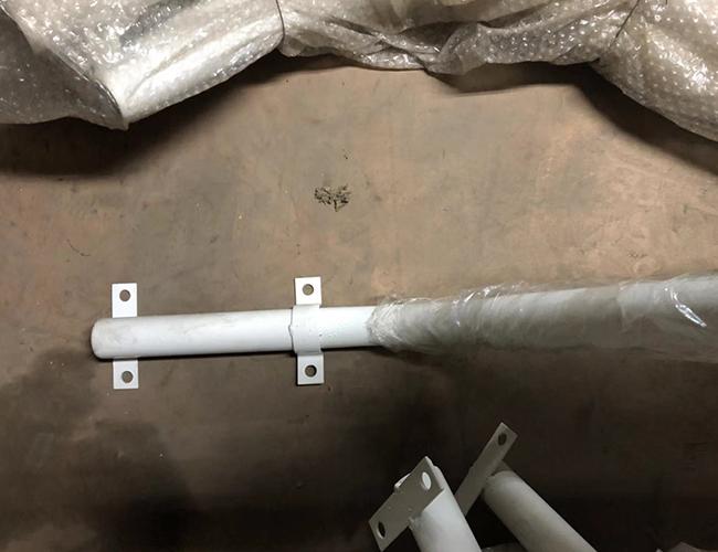 路灯杆弯管