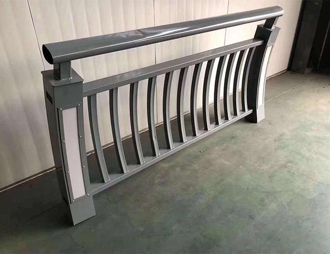 钢管仿木护栏
