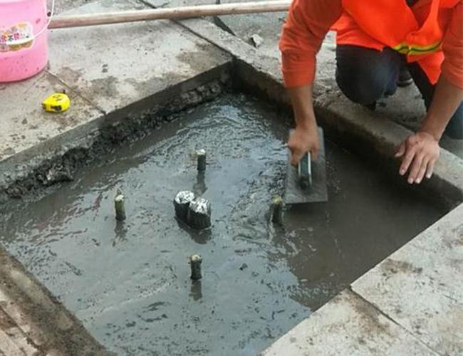 基础开挖浇筑