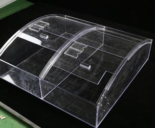 亚克力推拉式弧形盒