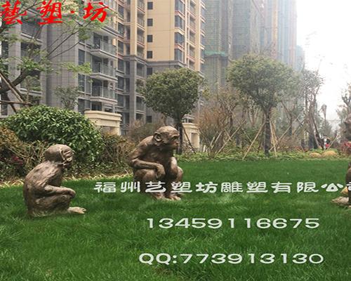 动物铸铜雕塑