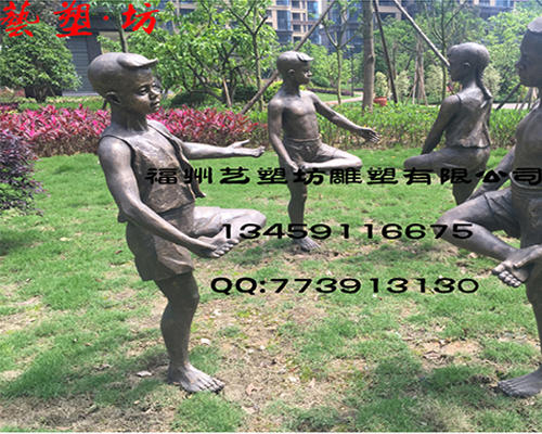 福州人物铸铜雕塑