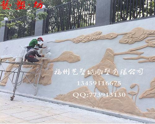 校园雕塑浮雕