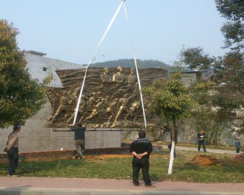 大型铜雕塑