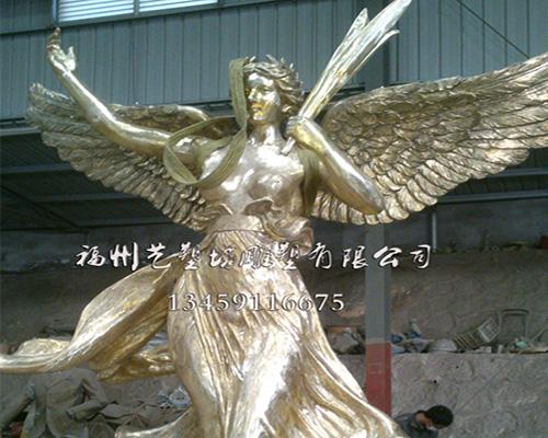 福州人物铜雕