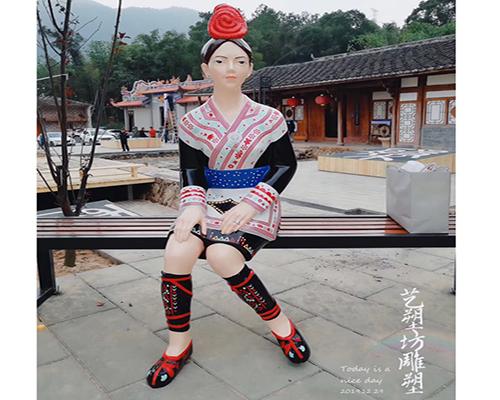 福州玻璃钢人物雕塑