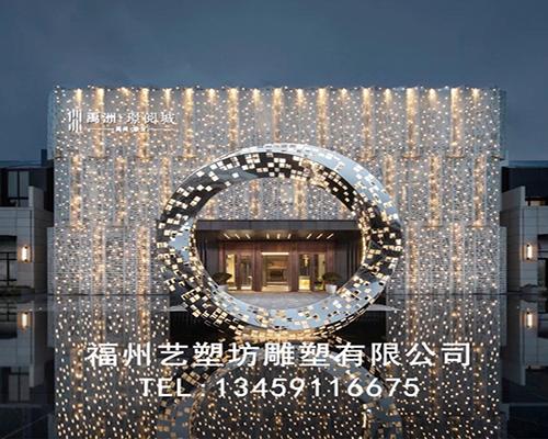 福州城市玻璃钢雕塑