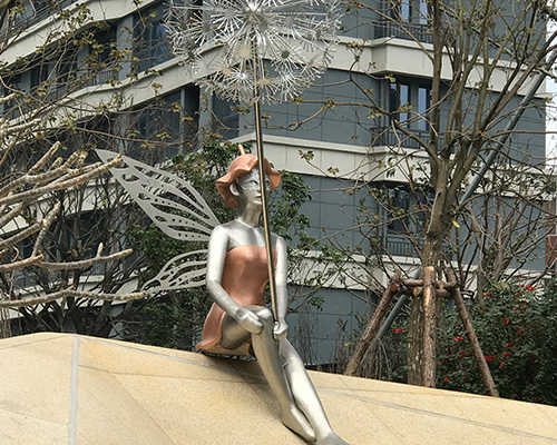 不锈钢人物雕塑