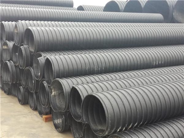 HDPE钢带增强缠绕管