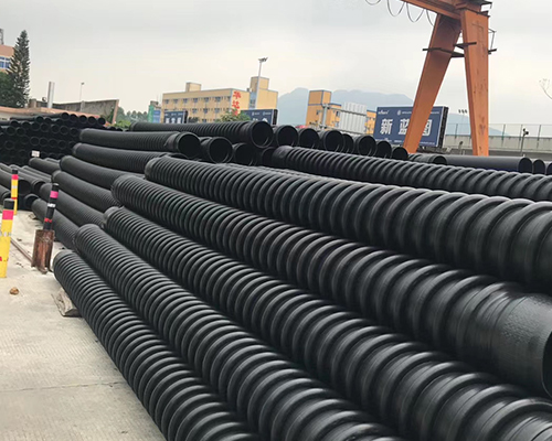 高密度聚乙烯纏繞結構壁管