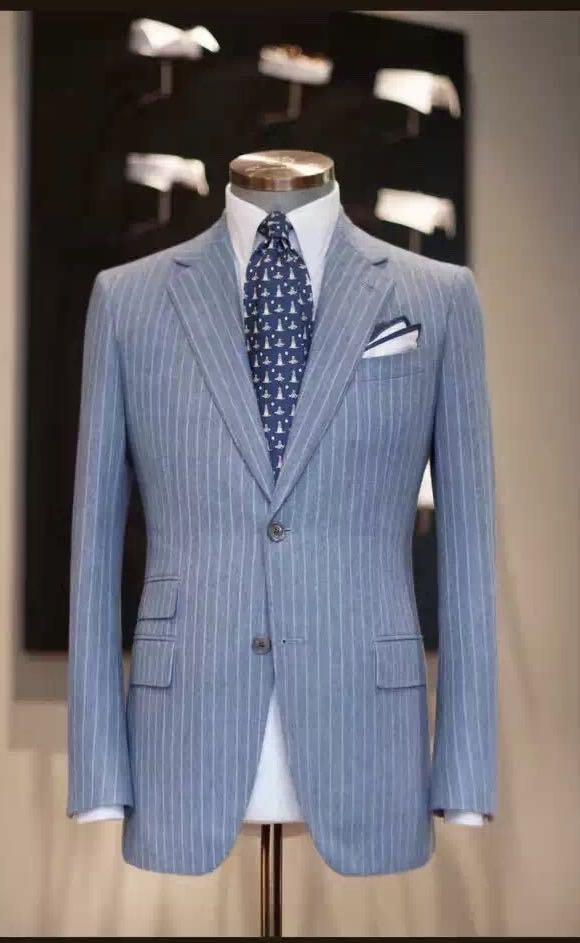 西装塑造的是一种得体、优雅的情境!