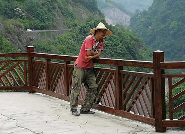 钢结构景观栏杆