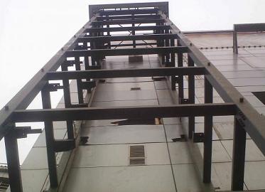 钢结构电梯框架