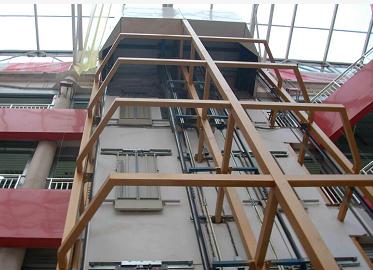 钢构电梯框架
