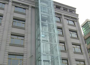 钢结构景观电梯框架