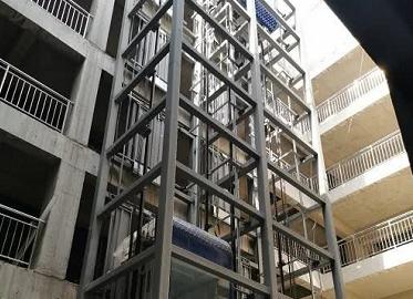 电梯框架钢结构