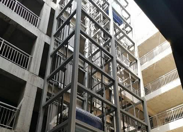 电梯框架钢构