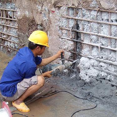 裂缝补强表面处理方法