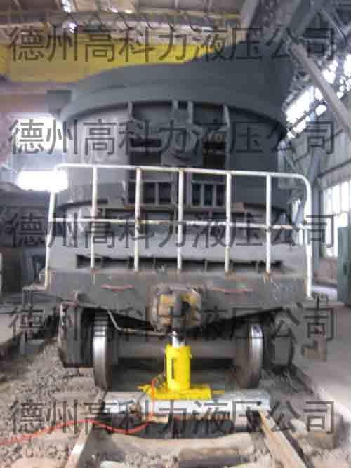 铁水罐车复轨设备,铁水罐复轨器生产厂家