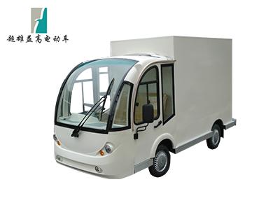 2座电动观光车改餐车(封闭驾驶室)