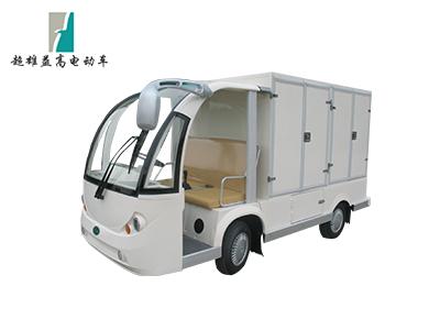 2座电动观光车改餐车(敞蓬驾驶室)