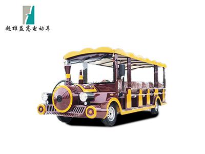 18座小火车款燃油观光车