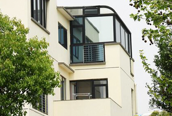 彩铝阳光房设计