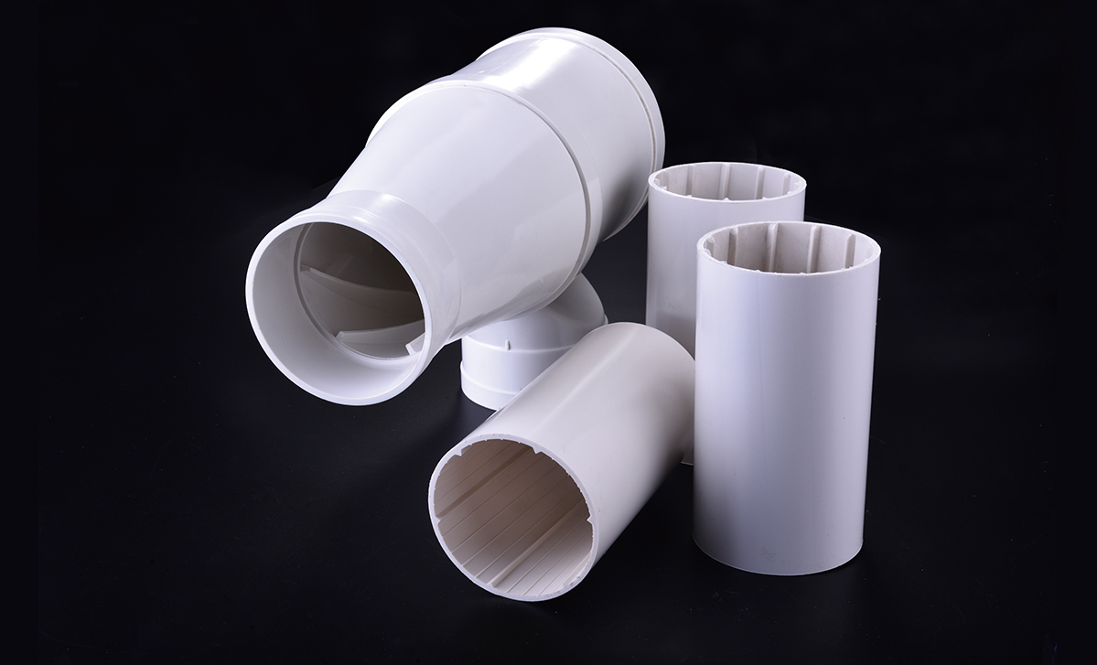 PVC-U中空螺旋排水管道
